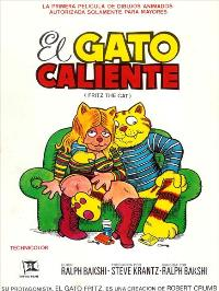 Fritz the Cat - 11 x 17 Movie Poster - Spanish Style A