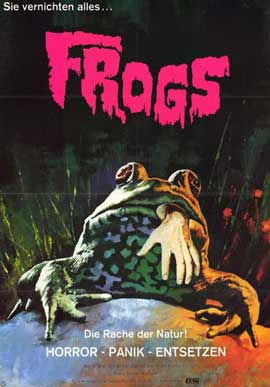 Frogs - 11 x 17 Movie Poster - German Style A