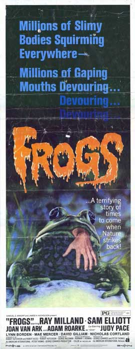 Frogs - 14 x 36 Movie Poster - Insert Style A