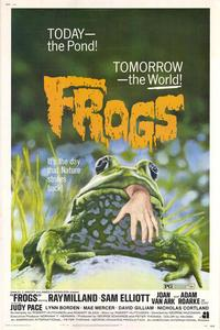 Frogs - 43 x 62 Movie Poster - Bus Shelter Style A