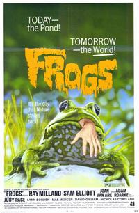 Frogs - 11 x 17 Movie Poster - Style A - Museum Wrapped Canvas
