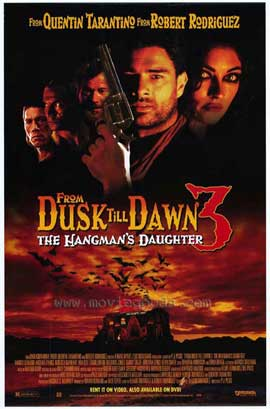 From Dusk Till Dawn 3: The Hangman's Daughter - 11 x 17 Movie Poster - Style A