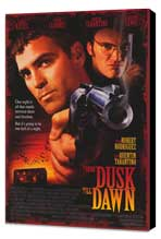 From Dusk Till Dawn - 27 x 40 Movie Poster - Style A - Museum Wrapped Canvas