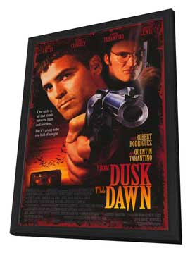 From Dusk Till Dawn - 27 x 40 Movie Poster - Style A - in Deluxe Wood Frame