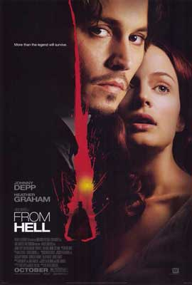 From Hell - 27 x 40 Movie Poster - Style A