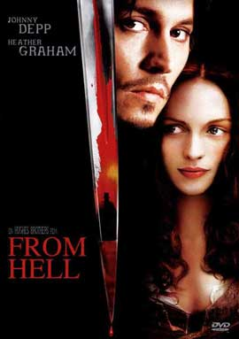 From Hell - 27 x 40 Movie Poster - German Style A