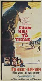 From Hell to Texas - 20 x 40 Movie Poster - Style A