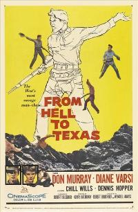 From Hell to Texas - 11 x 17 Movie Poster - Style A