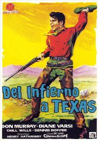 From Hell to Texas - 11 x 17 Movie Poster - Spanish Style A