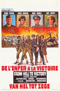 From Hell to Victory - 27 x 40 Movie Poster - Belgian Style A