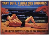 From Here to Eternity - 11 x 17 Movie Poster - French Style A