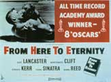 From Here to Eternity - 11 x 17 Movie Poster - Style D