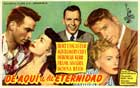 From Here to Eternity - 11 x 17 Movie Poster - Spanish Style A