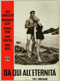 From Here to Eternity - 11 x 17 Movie Poster - Italian Style A