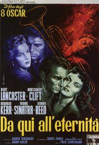 From Here to Eternity - 11 x 17 Movie Poster - Italian Style B