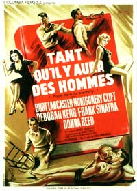 From Here to Eternity - 11 x 17 Movie Poster - French Style B