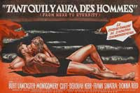 From Here to Eternity - 27 x 40 Movie Poster - French Style A
