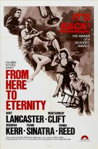 From Here to Eternity - 27 x 40 Movie Poster - Style B