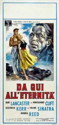 From Here to Eternity - 11 x 17 Movie Poster - Italian Style C