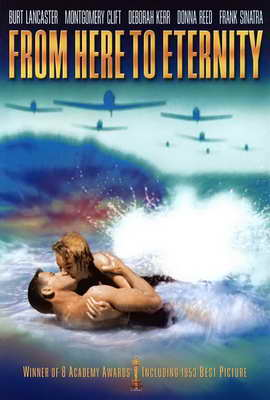 From Here to Eternity - 27 x 40 Movie Poster - Style E