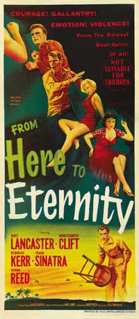 From Here to Eternity - 14 x 36 Movie Poster - Insert Style A