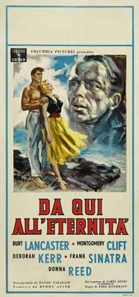 From Here to Eternity - 13 x 26 Movie Poster - Italian Style A