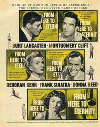 From Here to Eternity - 11 x 17 Movie Poster - Style G