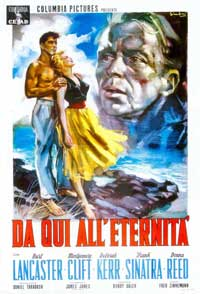 From Here to Eternity - 11 x 17 Movie Poster - Italian Style D