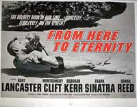 From Here to Eternity - 11 x 17 Movie Poster - UK Style A