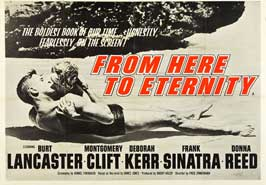 From Here to Eternity - 30 x 40 Movie Poster UK - Style A