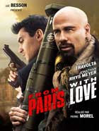From Paris with Love - 27 x 40 Movie Poster - French Style B
