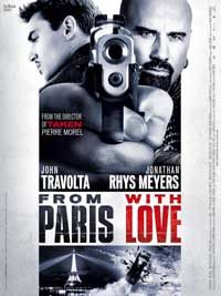 From Paris with Love - 43 x 62 Movie Poster - Bus Shelter Style D