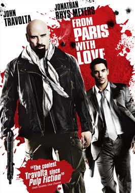 From Paris with Love - 27 x 40 Movie Poster - Style H