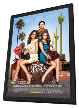 From Prada to Nada - 11 x 17 Movie Poster - Mexican Style A - in Deluxe Wood Frame