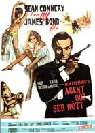 From Russia with Love - 11 x 17 Movie Poster - Swedish Style A