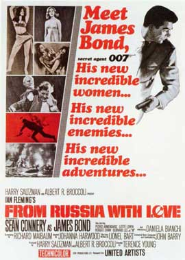 From Russia with Love - 11 x 17 Poster - Foreign - Style A
