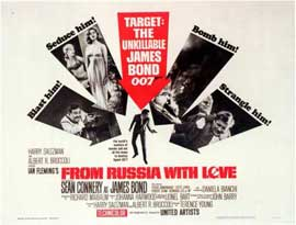 From Russia with Love - 11 x 14 Movie Poster - Style C