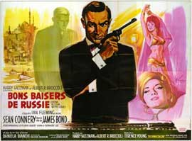 From Russia with Love - 11 x 17 Movie Poster - French Style B