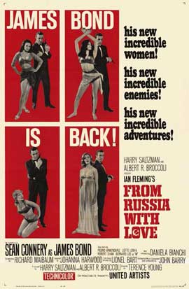 From Russia with Love - 11 x 17 Movie Poster - Style C
