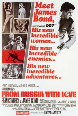 From Russia with Love - 27 x 40 Movie Poster - Style A