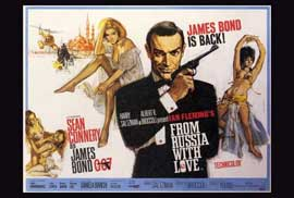 From Russia with Love - 27 x 40 Movie Poster - Style B