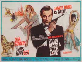 From Russia with Love - 11 x 17 Movie Poster - Style E