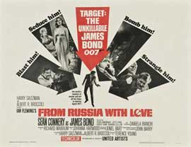 From Russia with Love - 22 x 28 Movie Poster - Half Sheet Style A