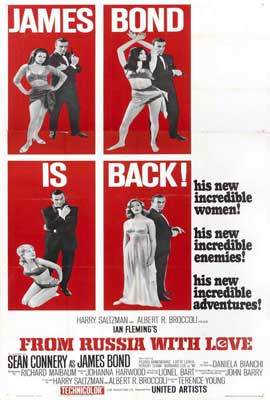 From Russia with Love - 27 x 40 Movie Poster - Style G