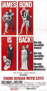 From Russia with Love - 11 x 17 Movie Poster - Style J
