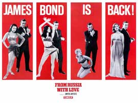 From Russia with Love - 11 x 17 Movie Poster - UK Style A