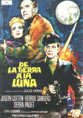 From the Earth to the Moon - 11 x 17 Movie Poster - Spanish Style A