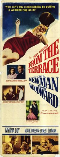 From the Terrace - 14 x 36 Movie Poster - Insert Style A