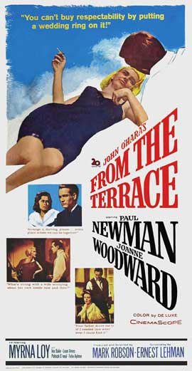 From the Terrace - 20 x 40 Movie Poster - Style A