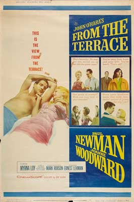 From the Terrace - 27 x 40 Movie Poster - Style B